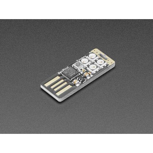 Adafruit Neo Trinkey - SAMD21 USB Key with 4x NeoPixels Cortex M0+