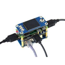 WaveShare PoE Ethernet / USB HUB HAT for Raspberry Pi...