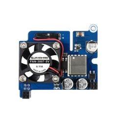 WaveShare Power over Ethernet HAT (D) for Raspberry Pi 3B+/4B, 802.3af-compliant, Official case compatible