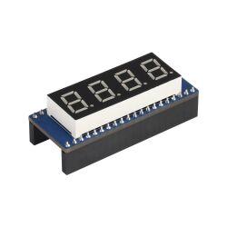 WaveShare 4-digit 8-segment Display Module for Raspberry Pi Pico, SPI-compatible