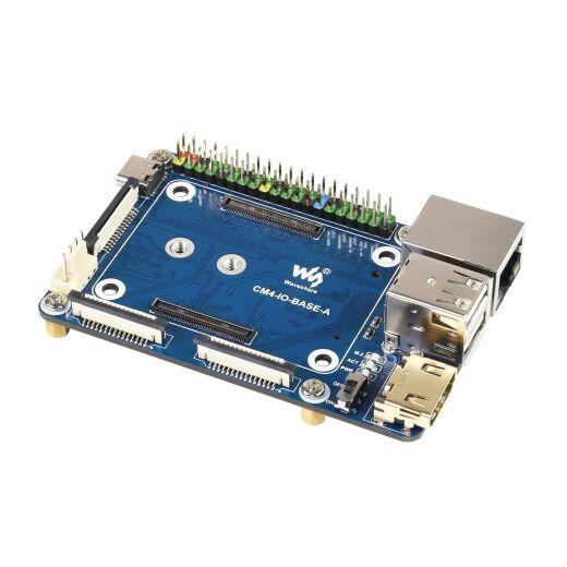 WaveShare Mini Base Board (A) Designed for Raspberry Pi Compute Module 4