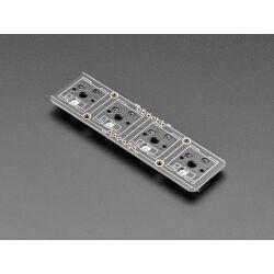Adafruit NeoKey 1x4 QT I2C - Four Mechanical Key Switches...