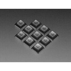 Adafruit Translucent Smoke DSA Keycaps for MX Compatible...