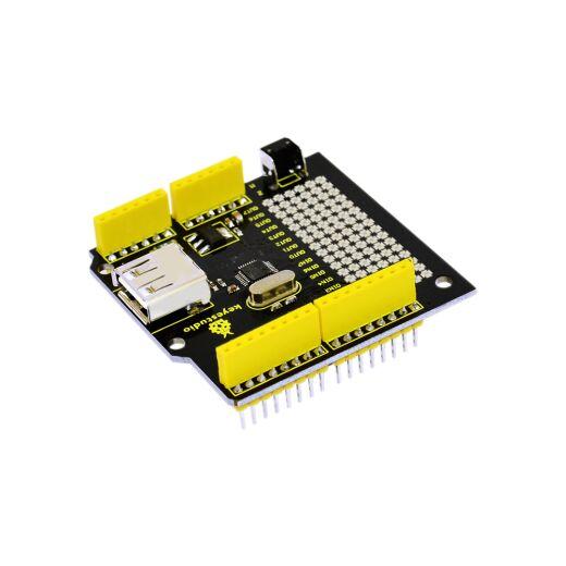 Keyestudio USB Host Shield V1.5 Compatible with Arduino Uno Mega Android ADK