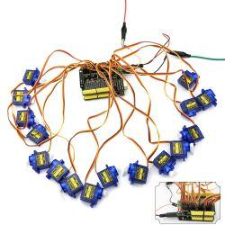 Keyestudio 16 Channel Servo Motor Driver Shield for Arduino