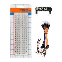 Keyestudio Breadboard Kit for Arduino, Power Module +...