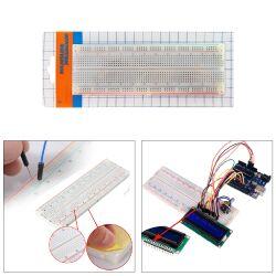 Keyestudio Breadboard Kit for Arduino, Power Module + Breadboard + Jumper Wires