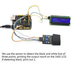 Keyestudio 3 Channel Infrared Tracking Sensor Module for Arduino Smart Car DIY