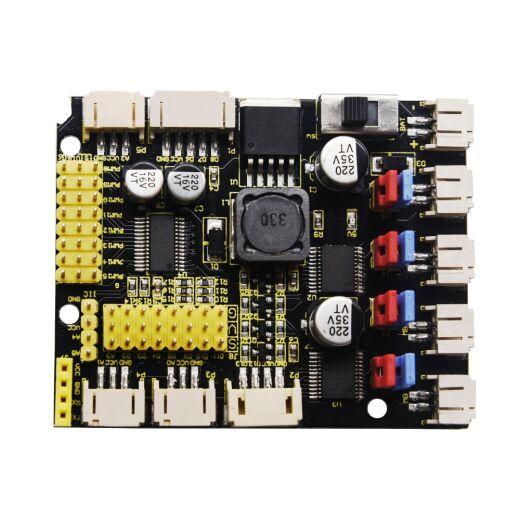 Keyestudio 4WD TB6612 DC Motor Driver Shield for Arduino Uno Smart Car