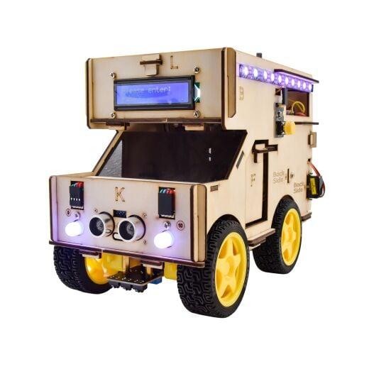Keyestudio Smart RV Robot Starter Kit for Arduino Robot Car STEM Android IOS