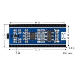 WaveShare Audio Expansion Module for Raspberry Pi Pico Headphone Speaker Output