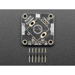 Adafruit I2C QT Rotary Encoder with NeoPixel STEMMA QT Qwiic