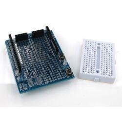 Prototype Shield V5 + Mini Breadboard für Arduino...