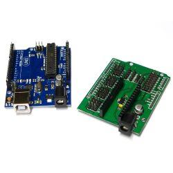 Uno R3 + I O Expansion Sensor Shield mit Cable