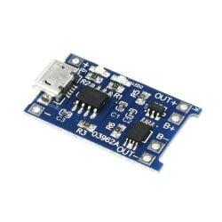 TP4056 XD-58A Micro-USB 5V 1A LiPo Akku Lademodul Lithium...