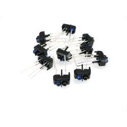10Stk. TCRT5000 Infrarot Reflektierende Sensor TCRT5000L...