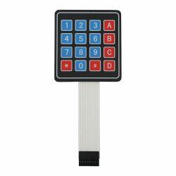 4x4 Matrix Array Keypad 8 pin 16 key membranKeyboard...