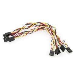 5 Stücke 4Pin 20cm Jumper Cable Wire Female to...