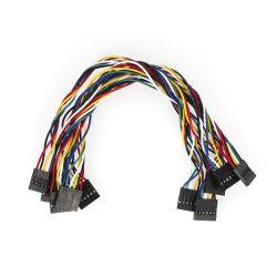 5 Stücke 6Pin 20cm Jumper Cable Wire Female to Female