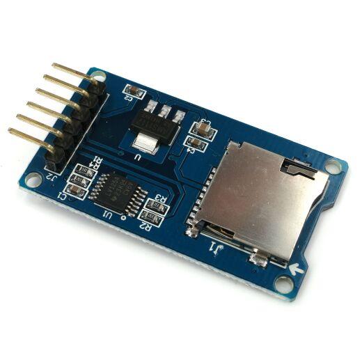 TF Micro SD Card Memory Modul Arduino Atmega Kartenadapter Cardreader