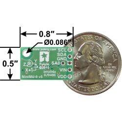 Pololu MinIMU-9 v5 Gyro, Accelerometer, and Compass...