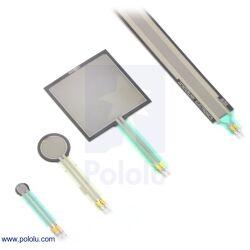 Interlink Drucksensor Force-Sensing Resistor FSR 402 0.2 N - 20 N 18.3 x 0.46 mm(R x H)