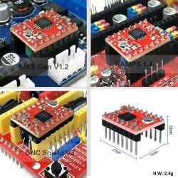A4988 StepStick Compatible Stepper Motor Driver für 3D Printer
