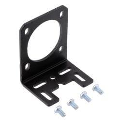 Pololu Stamped Aluminum L-Bracket for NEMA 14 Stepper Motors