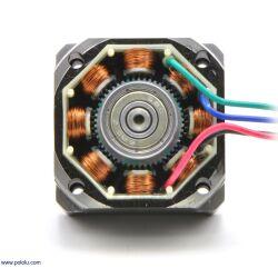 Pololu Stepper Motor NEMA 11 Bipolar 200 Steps Rev 28×32mm 3.8V 0.67 A Phase