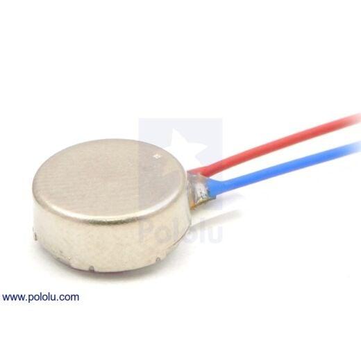 Pololu Shaftless Vibration Motor 8x3.4mm Vibration Amplitude 0.75g
