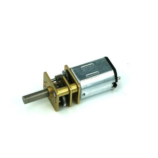 V-TEC 6V Micro 10x12mm DC Motor Getriebe Motor Stirnradgetriebe 112 rpm