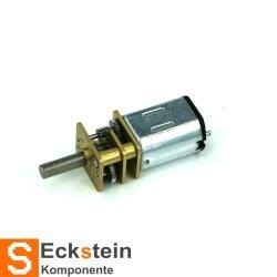 V-TEC 6V Micro 10x12mm DC Motor Getriebe Motor Stirnradgetriebe 17 rpm