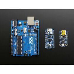Adafruit Pro Trinket - 3V 12MHz, ATmega328P 3.3V + 28K Flash + 2K RAM + 18 GPIO + 2 Extra Analog Inputs