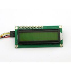 Character 16x2 LCD Display Module 1602 Black on Green 5V...