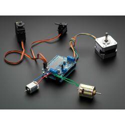 Adafruit Motor Stepper Servo Shield for Arduino v2 Kit -...