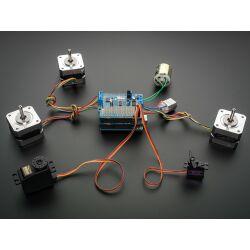 Adafruit Motor Stepper Servo Shield for Arduino v2 Kit - v2.3