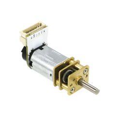 V-TEC 6V Micro 10x12mm DC Motor Gleichstrom Getriebe Motor mit Encoder 168 RPM