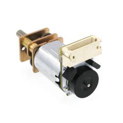 V-TEC 6V Micro 10x12mm DC Motor Gleichstrom Getriebe Motor mit Encoder 56 RPM