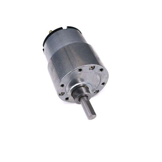 V-TEC 12V Mini 37D DC Motor Gleichstrom Getriebe Motor Stirnradgetriebe 76 RPM