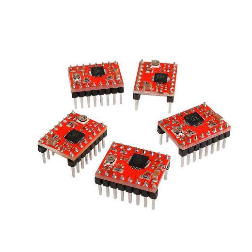 5x A4988 StepStick Kompatibel Schrittmotortreiber für 3D-Drucker