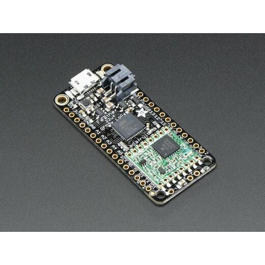 Adafruit Wireless Feather 32u4 RFM95 LoRa Radio - 868 or 915 MHz