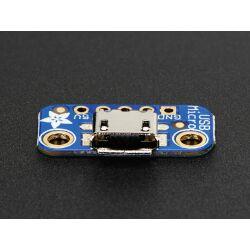 Adafruit USB Micro-B Breakout Board, Adding USB 5V Power to Projects