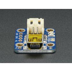 Adafruit Mini Lipo w/Mini-B USB Jack - USB LiIon/LiPoly charger - v1 for 3.7V/4.2V Rechargeable Battery