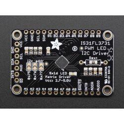 Adafruit 16x9 Charlieplexed PWM LED Matrix Driver -...