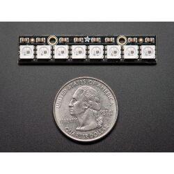 Adafruit NeoPixel Stick - 8 x 5050 RGB LED with...