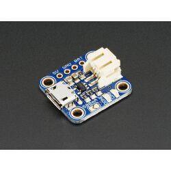 Adafruit Micro Lipo with MicroUSB Jack - USB LiIon/LiPoly...