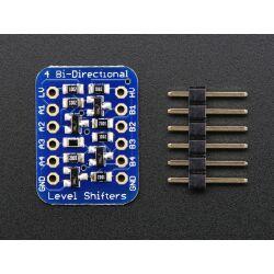 Adafruit 4-channel I2C-safe Bi-directional Logic Level Converter