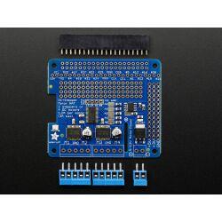 Adafruit DC & Stepper Motor HAT for Raspberry Pi -...