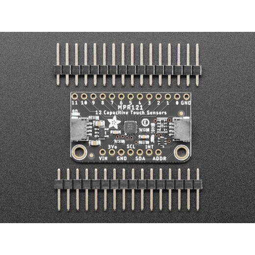 Adafruit 12-Key Capacitive Touch Sensor Breakout - MPR121 - STEMMA QT