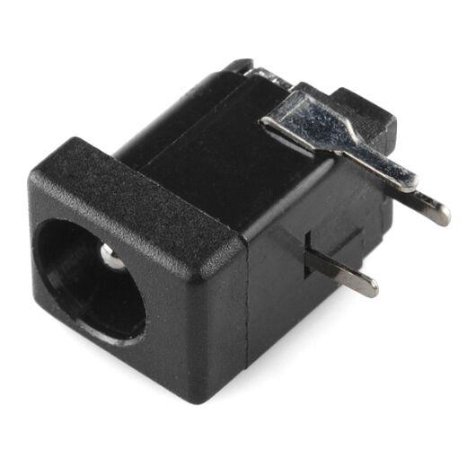 SparkFun DC Barrel Jack Adapter - Breadboard Compatible 5.5x2.1mm